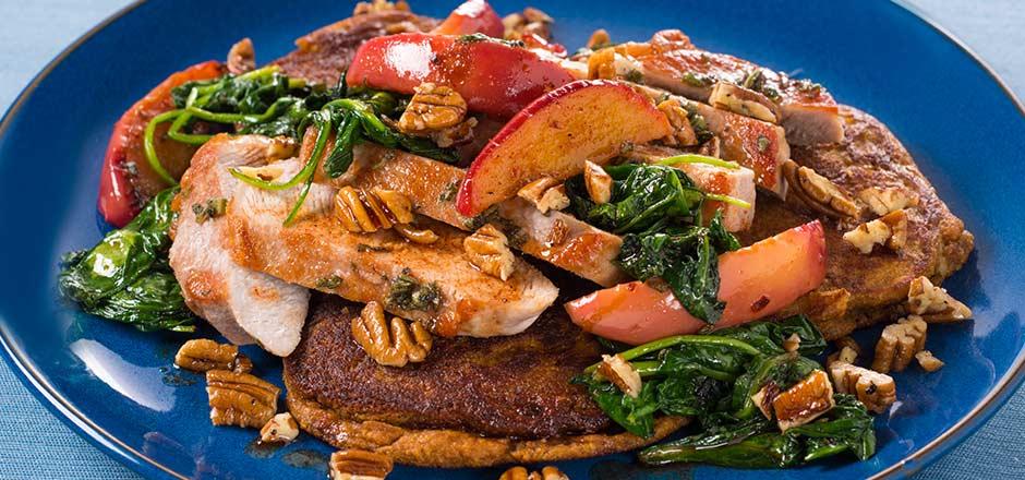 apple-sage pork chops