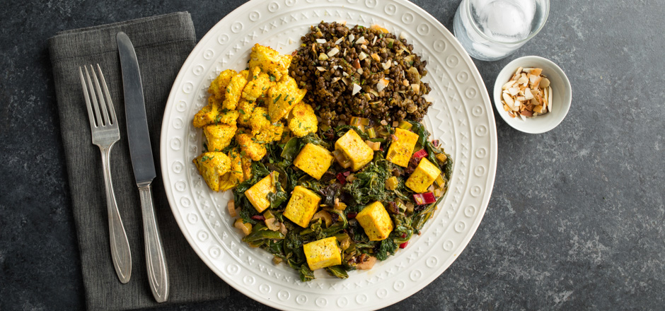 Green chef recipe pages detail a bold flavored dinner inspired by indian cuisine saag cooked greens is prepared here with chard and mustard greens cooked read more with raisins in a forumfinder Image collections
